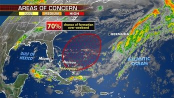Hurricane season may start early with tropical system brewing off Florida, Bahamas