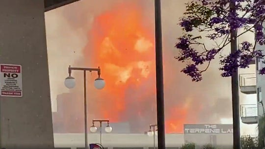 Los Angeles fire, explosion leave at least 11 firefighters injured, all expected to survive: LAFD
