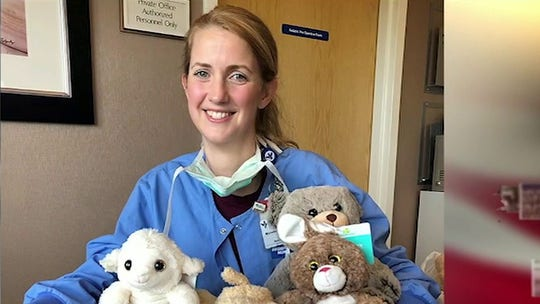VA nurse whose special teddy bears soothed coronavirus patients to be honored by NASCAR