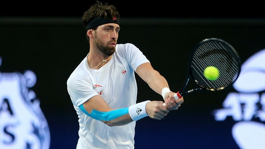 Tennis star Nikoloz Basilashvili arrested on domestic violence charge against ex-wife: reports