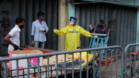 Stampede for coronavirus aid leaves 3 dead in Sri Lanka