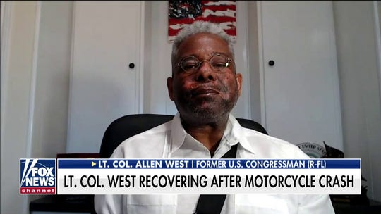 Lt. Col. Allen West reacts to outpouring of support after motorcycle crash: 'I'm so blessed'