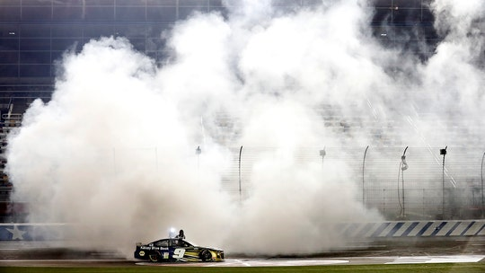 Chase Elliott wins rain-delayed NASCAR Cup Series race at Charlotte Motor Speedway