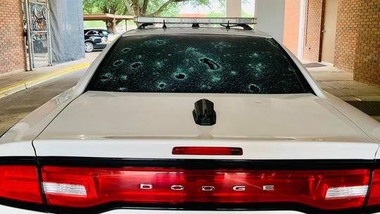 Texas city slammed with tennis ball-sized hail