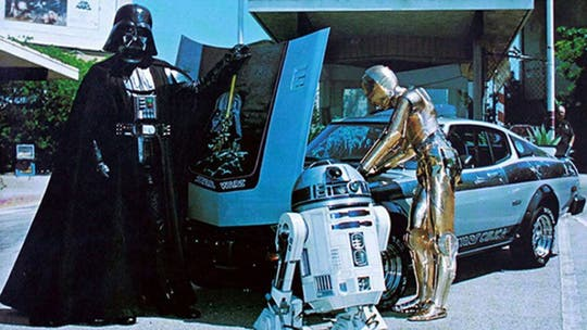 Where is the missing Star Wars Toyota Celica?