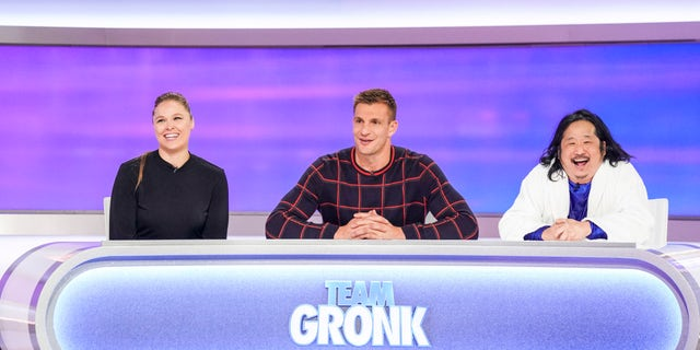 Ronda Rousey, Rob Gronkowski, and Bobby Lee on 'Game On!'