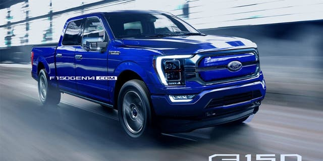 F150Gen14.com created this rendering of the 2021 F-150 based on insider information.