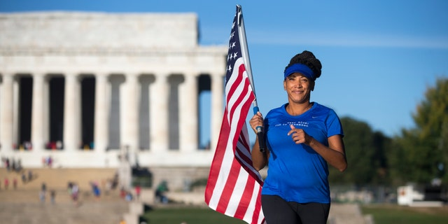 Wear Blue: Run to Remember Lincoln Memorial - Shake-Out run