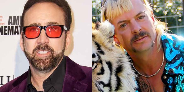 Nicolas Cage will play Joe Exotic in a new eight-part series.