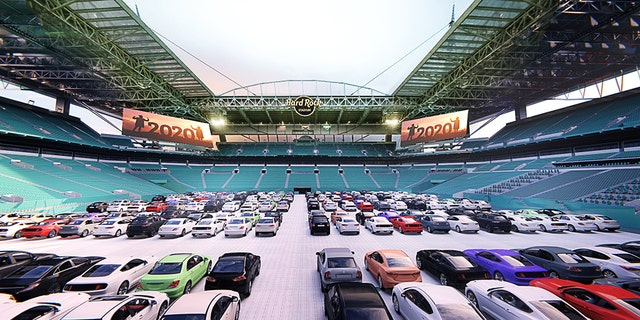 Fans can watch classic Dolphins moments and other events. (Courtesy Miami Dolphins)