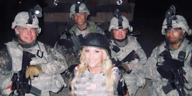 My USO Tour, U.S. Army Sadr City FOB all-nighter, June 2009