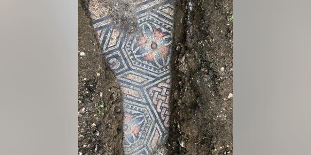 The mosaic was once part of a Roman villa. (Comune di Negrar di Valpolicella)