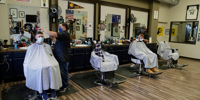 Westlake Legal Group AP-Barber-Shop America reopening: Dozens of states including Michigan, Ohio ease coronavirus restrictions this week Stephen Sorace fox-news/us/us-regions/west/oregon fox-news/us/us-regions/west/montana fox-news/us/us-regions/southwest/oklahoma fox-news/us/us-regions/southwest/arizona fox-news/us/us-regions/southeast/west-virginia fox-news/us/us-regions/southeast/south-carolina fox-news/us/us-regions/southeast/mississippi fox-news/us/us-regions/southeast/kentucky fox-news/us/us-regions/southeast/florida fox-news/us/us-regions/southeast/alabama fox-news/us/us-regions/northeast/new-hampshire fox-news/us/us-regions/northeast/maine fox-news/us/us-regions/midwest/ohio fox-news/us/us-regions/midwest/minnesota fox-news/us/us-regions/midwest/michigan fox-news/us/us-regions/midwest/indiana fox-news/us/us-regions/midwest/arkansas fox-news/politics/state-and-local fox-news/health/infectious-disease/coronavirus fox news fnc/us fnc dd88a06b-54b4-59a1-b171-ed6fe7b8de56 article