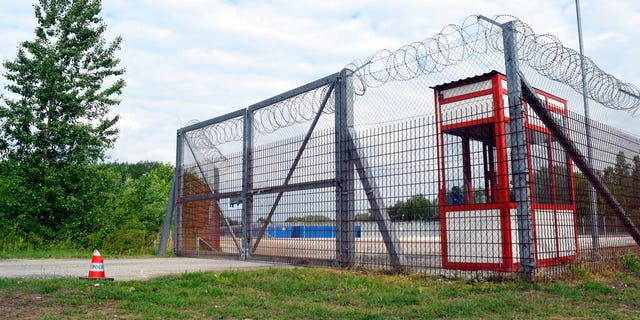 FILE: The transit zone for asylum seekers is pictured in Roszke, Hungary.