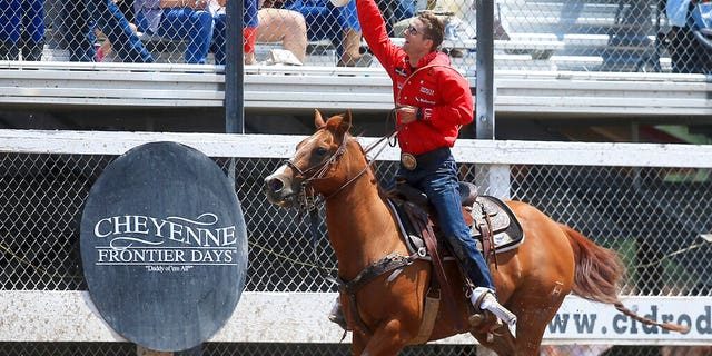 Westlake Legal Group AP20148735457298-2 Cheyenne Frontier Days, world's largest outdoor rodeo, canceled for 1st time in over a century fox-news/us/us-regions/west/wyoming fox-news/health/infectious-disease/outbreaks fox-news/health/infectious-disease/coronavirus fox-news/health/infectious-disease fox news fnc/lifestyle fnc Bradford Betz article 201ac3b7-c73e-5e93-880e-af7252eebefb