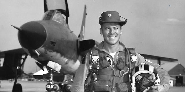 Air Force Major Eugene P. Beresik (Courtesy: Paul B. Jansen)