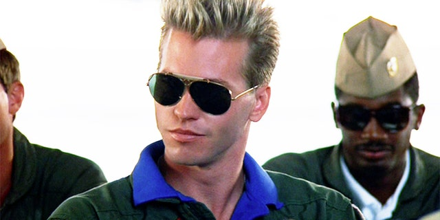 Val Kilmer in 'Top Gun' as Tom 'Iceman' Kazansky. He will reprise the role in 'Top Gun: Maverick.'