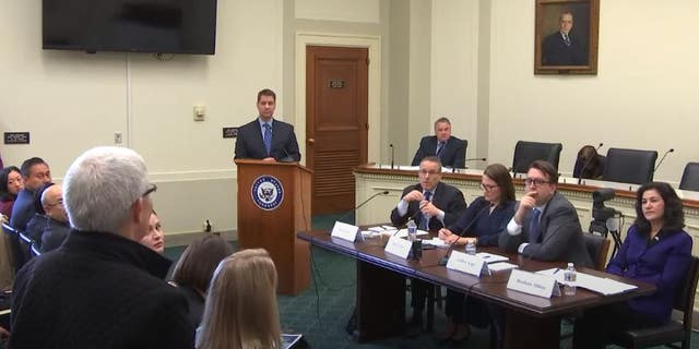 """The Congressional-Executive Commission discussing a report: """"Global Supply Chains, Forced Labor, and the Xinjiang Uyghur Autonomous Region."""""""