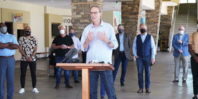 Danny Carroll, senior pastor atWater of Life Community Church in Fontana, California, argues that churches should reopen during phase 2 of the governor's plan to reopen the state.