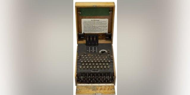 The German enigma machine.