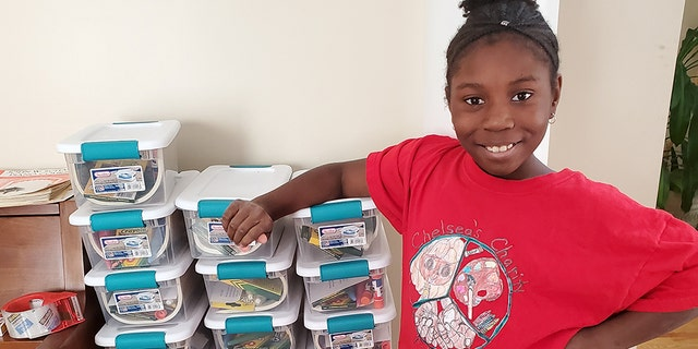 Chelsea Phaire, the 10-year-old founder of Chelsea's Charity, has sent out 2,500 art kits to kids through the coronavirus pandemic.