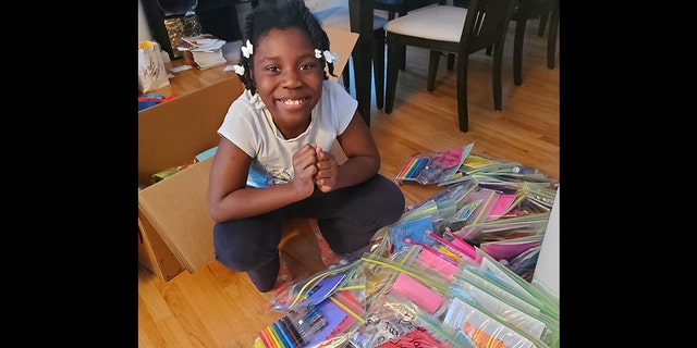Chelsea Phaire's goal is to bring art to every kid on the planet.