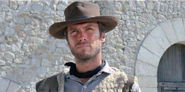 Clint Eastwood in 'A Fistful of Dollars.'