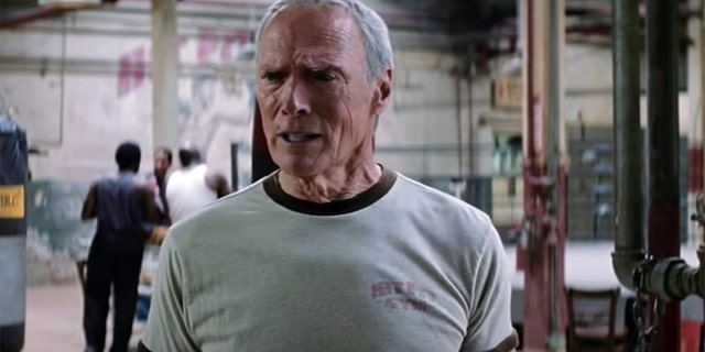 Clint Eastwood in 'Million Dollar Baby.'