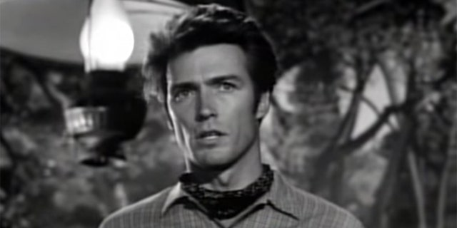 Clint Eastwood in 'Rawhide.'