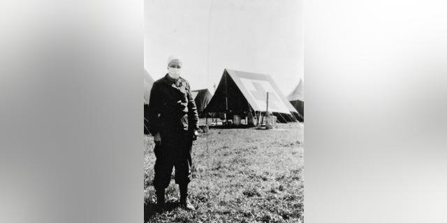 Great great aunt Lorenz Cochran, U.S. Army Nurse Corps, WWII