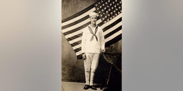 Great-great cousin Anton Lorenz, U.S Navy Cook, 1925