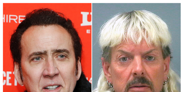 Nicolas Cage is set to play Joseph Maldonado-Passage, also known as Joe Exotic in a new limited series.