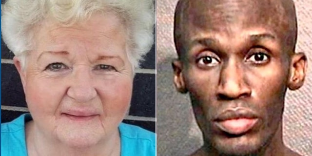 Police said Rosalie Cook, 80, was fatally stabbed in a Houston parking lot by38-year-old Randy Roszell Lewis, who was recently released without having to pay bail.