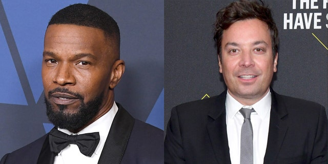 Jamie Foxx defended Jimmy Fallon over a resurfaced sketch from 2000 in which the 'Tonight Show' host appeared in blackface.