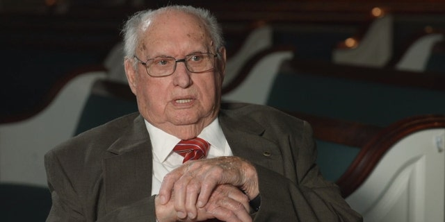 Rev. Fred Lunsford, 95, launched a prayer event that has grown much larger than he imagined.