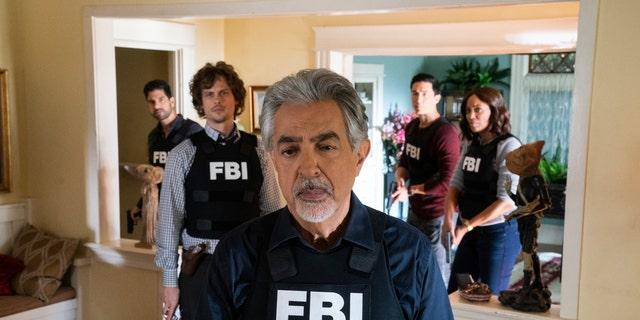'Criminal Minds' -- Pictured: Joe Mantegna (David Rossi), Matthew Gray Gubler (Dr. Spencer Reid), Adam Rodriguez (Luke Alvez), Daniel Henney (Matt Simmons), Aisha Tyler (Dr. Tara Lewis)