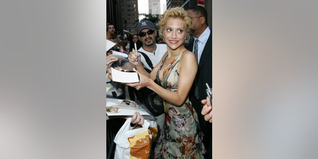 "Brittany Murphy during the New York premiere for ""Little Black Book."""
