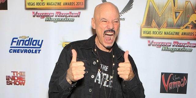 Guitarist Bob Kulick arrives at the 2013 Vegas Rocks! magazine music awards at The Joint inside the Hard Rock Hotel & Casino on August 25, 2013 in Las Vegas, Nevada.