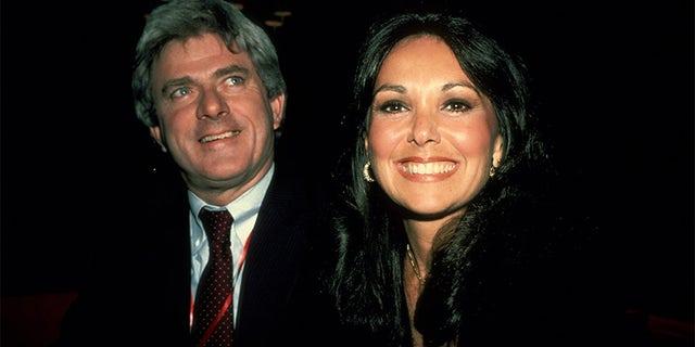 Phil Donahue and Marlo Thomas circa 1979 in New York City.