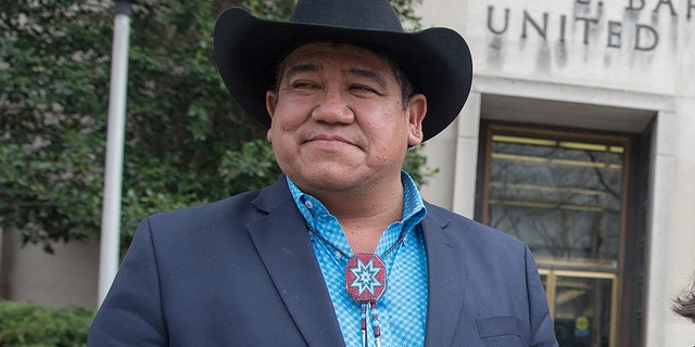 Cheyenne River Sioux Tribe Chairman Harold Frazier in a February 2017 file photo. (Tasos Katopodis/Getty Images)