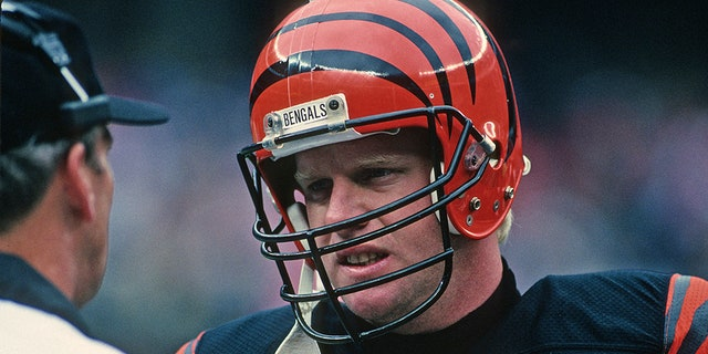 Boomer Esiason was one of the top quarterbacks in team history. (Photo by George Gojkovich/Getty Images)