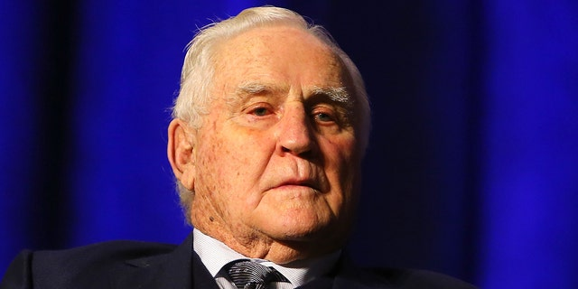 Shula holds the record for most wins all-time by an NFL head coach. (Photo by Mike Lawrie/Getty Images)