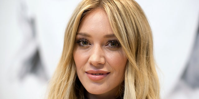 """Exposed to covid Quarantine day 2 Fml,"" actress Hilary Duff wrote in an Instagram Story on Nov. 21, 2020. (Photo by Mike Pont/Getty Images)"