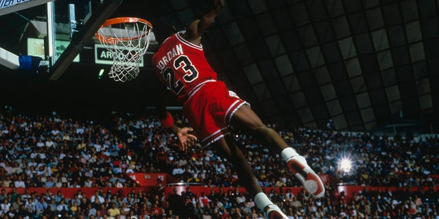 Michael Jordan was the star of the '92 Olympics. (Photo by Focus on Sport via Getty Images)
