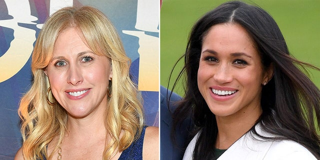 Emily Giffin (left) and Meghan Markle, Duchess of Sussex (right).