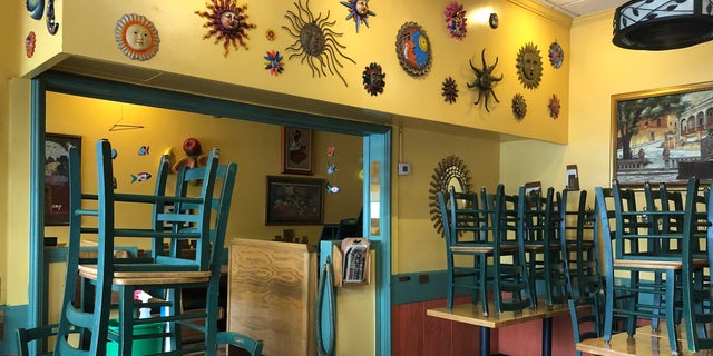 Jalisco's makes it clear it is not allowing sit-down dining yet.