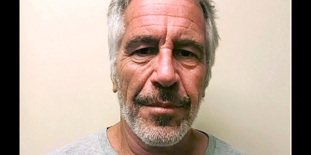 The last man to have shared a jail cell with Jeffrey Epstein, who is shown above, has died from the coronavirus, reports say. (New York State Sex Offender Registry/AP)