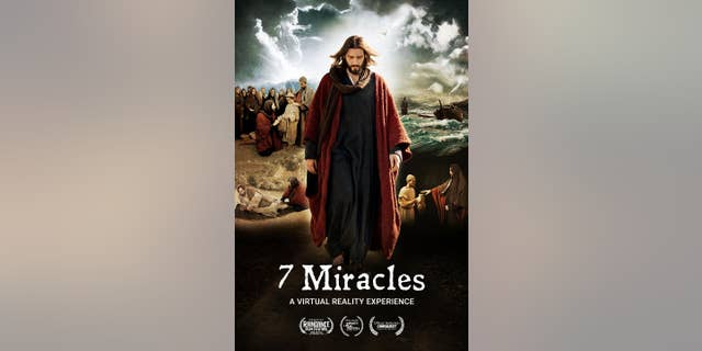 Official movie poster for '7 Miracles'--a feature-length VR experience from HTC Vive Studios. HTC VIVE STUDIOS