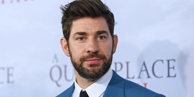 "John Krasinski attends the ""A Quiet Place Part II"" World Premiere at Rose Theater, Jazz at Lincoln Center on March 08, 2020 in New York City. (Photo by Mike Coppola/Getty Images)"