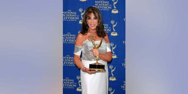 Kate Linder at The 41st Annual Daytime Emmy Awards Press Room at The Beverly Hilton Hotel on June 22, 2014, in Beverly Hills, California